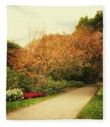 Then Autumn Arrives 05 Fleece Blanket