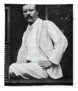 Theodore Roosevelt (1858-1919) Fleece Blanket