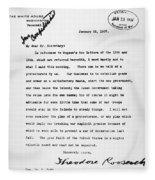 Theodore Roosevelt Cuba Fleece Blanket