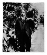 Theodore Roosevelt, Jr Fleece Blanket