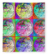 There Is Never Enough Time 20130606 Fleece Blanket