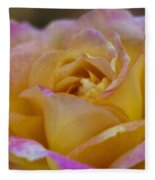 There's Nothing Like The Beauty Of A Rose  Fleece Blanket