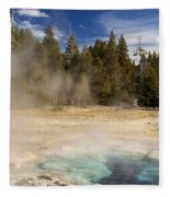 Thermal Landscape Fleece Blanket