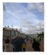 They Come To Catherine Palace - St. Petersburg - Russia Fleece Blanket