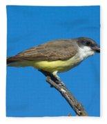 Thick-billed Kingbird Tyrannus Fleece Blanket