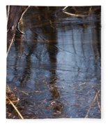 Thin Ice Of A New Day Fleece Blanket