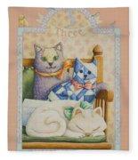 Third Birthday Fleece Blanket