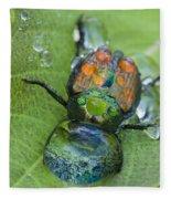 Thirsty Beetle Fleece Blanket