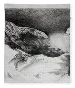 Thirsty Crow Fleece Blanket