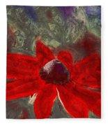 This Is Not Just Another Flower - Spr01 Fleece Blanket
