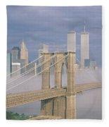This Is The Brooklyn Bridge Fleece Blanket