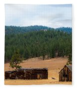 This Old Farm Fleece Blanket