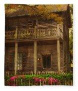 This Old House Fleece Blanket