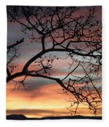 This Side Of The Night Fleece Blanket
