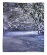 This Way To Fairy Glen Fleece Blanket