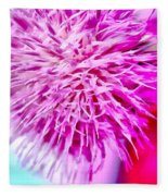 Thistle Beauty Fleece Blanket
