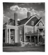 Thistle Hill Bw Fleece Blanket