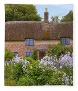 Thomas Hardy's Cottage Fleece Blanket