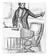 Thomas Hart Benton (1782-1858) Fleece Blanket