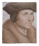 Thomas More Fleece Blanket