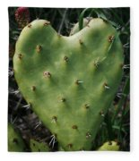 Thorny Heart Fleece Blanket