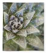 Thorny Succulent Fleece Blanket