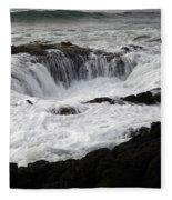 Thors Well Oregon Fleece Blanket