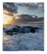 Thors Well Oregon Truly A Place Of Magic 3 Fleece Blanket