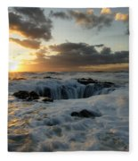 Thors Well Truly A Place Of Magic 4 Fleece Blanket