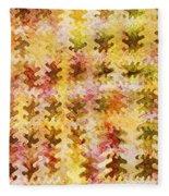 Those Autumn Leaves Fleece Blanket