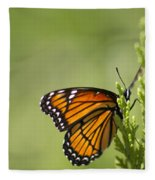 Those Magnificent Monarchs - Danaus Plexippus Fleece Blanket