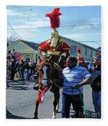 Thoth Parade Rider Fleece Blanket