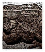 Thoughtful Toad Fleece Blanket