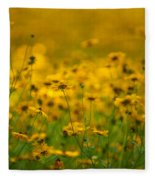 Thoughts Of Spring Fleece Blanket