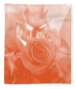 Thoughts Of Valentine's Day Fleece Blanket