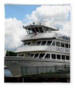 Thousand Islands Saint Lawrence Seaway Uncle Sam Boat Tours Fleece Blanket