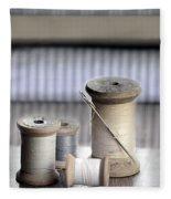 Thread And Needle Fleece Blanket