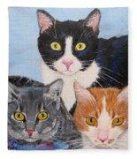 Three Amigos Fleece Blanket