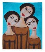 Three Angels Fleece Blanket