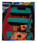 Three Boats Fleece Blanket
