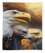 Three Eagles Fleece Blanket