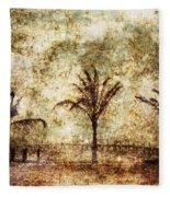 Three Palms 6-2 Fleece Blanket