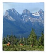 1m3203-three Sisters Faith Hope Charity Fleece Blanket