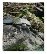 Three Turtles Fleece Blanket