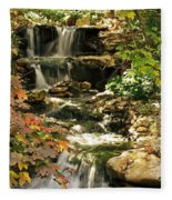 Three Water Falls Fleece Blanket