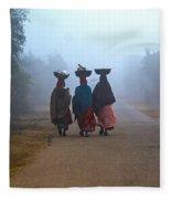Three Women Fleece Blanket