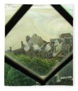 Through A Window To The Past Fleece Blanket