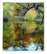 Through The Tree's Fleece Blanket