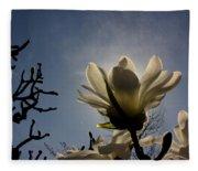 Thru The Flowers 2 Fleece Blanket