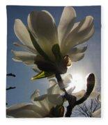 Thru The Flowers Fleece Blanket